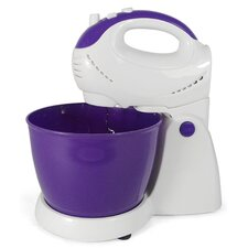5 Speed Stand Mixer in Purple