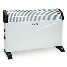 750 Watt Wall Mounted Electric Convector Radiator Heater with Thermostat