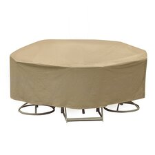 Round Table and High Back Chair Cover