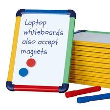 10-tlg. Magnetisches Whiteboard Lap Board 29,7 cm H x 21cm B