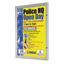 Locking Poster Case Board