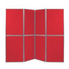 Freistehende Tafel Busyfold, 200 cm H x 280 cm B
