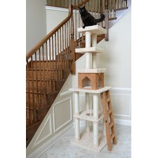 "84"" Ultra-Thick Cat Tree in Beige"