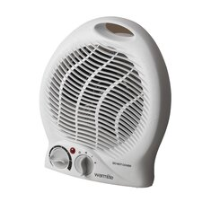 2000 Watt Portable Electric Fan Compact Heater