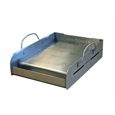 Griddle-Q Half-Size Stainless Steel BBQ Griddle