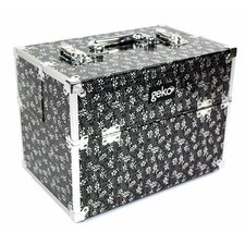 Vanity Case / Makeup Box in Black