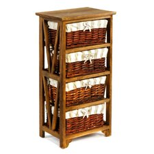 Leven 4 Basket Drawer Chest