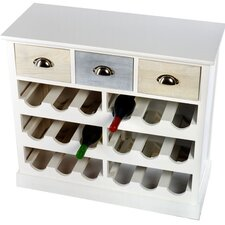 18 Bottles Tabletop Wine Cabinet