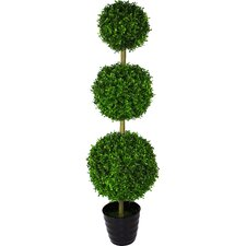 Artificial Grass Topiary Tree