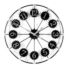 Oversized 70cm Metal Wall Clock