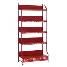 Racked Cafe and Bistro Shelf