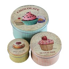 3 Piece Iron Chocolate Order in 10's Tin Set