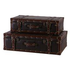 2 Piece Suitcase Set