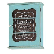 Glass Fronted Champagne Cabinet with 1 Door