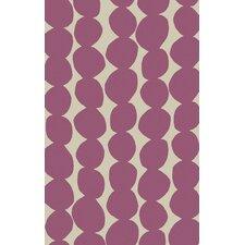 Textila Light Gray/Carnation Area Rug