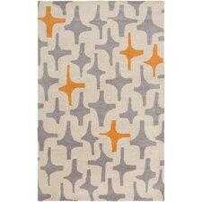 Decorativa Gray/Beige Geometric Area Rug