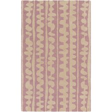 Decorativa Hand-Tufted Pink/Neutral Area Rug