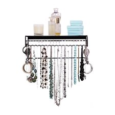 Wall-Mounted Jewelry Armoire