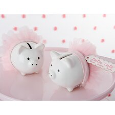 Tutu Cute Ceramic Mini-Piggy Bank (Set of 10)