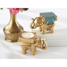 Lucky Elephant Tealight Holder (Set of 10)