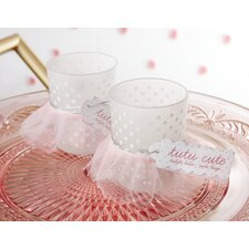 Tutu Cute Frosted Glass Votive (Set of 12)