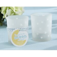To the Moon and Back Glass Votive (Set of 16)