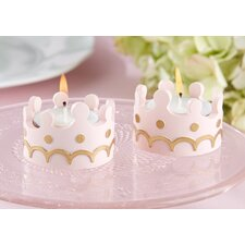 Little Princess Tealight Holder (Set of 16)