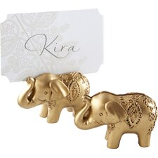 Lucky Elephant Place Card Holder (Set of 18)