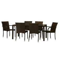 Viva 7 Piece Dining Set