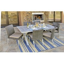 Lindmere 7 Piece Dining Set with Cushion