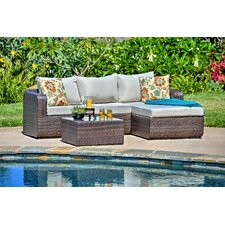 Luies 3 Piece Deep Seating Group with Cushion