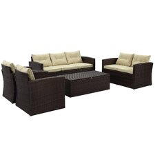 Rio 5 Piece Deep Seating Group with Cushions