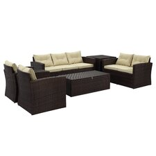 Rio 6 Piece Deep Seating Group with Cushion