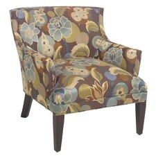 Button Back Arm Chair