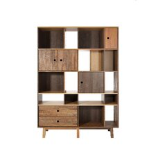 "Brooklyn 86.5"" Cube Unit Bookcase"