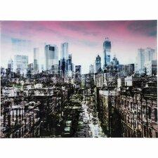 Glasbild NY Skyline