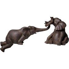 2-tlg. 2-tlg. Figur-Set Elefant Zirkus