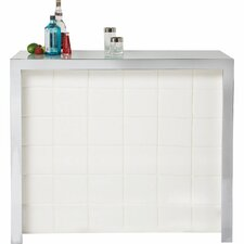 Invitation Bar Cabinet with Wine Rack