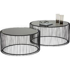 Wire Coffee Table (Set of 2)