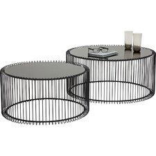 2-tlg. 2-tlg. Couchtisch-Set Wire