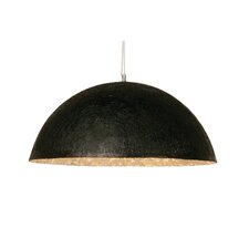 Schalen-Pendelleuchte 3-flammig Shiny Wok Black Big