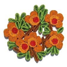 Florigraphie Camelia Straw Pot Holder