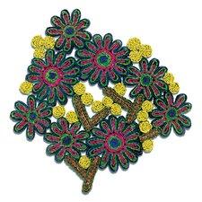 Florigraphie Passiflora Straw Pot Holder