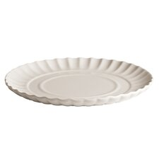 Estetico Quotidiano Porcelain Ripple Plate (Set of 6)