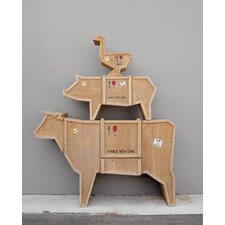 Sending Animals Cow Cabinet