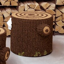 """Bosque 19.7"""" Crocheted Cotton Seating"""