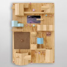 Suburbia Wooden Wall Storage Solution