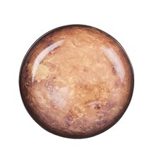 "Cosmic Diner 10.2"" Mars Porcelain Plate"