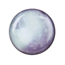 "Cosmic Diner 10.2"" Pluto Porcelain Plate"