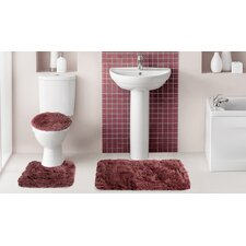 Fluff3 Piece Bath Rug Set